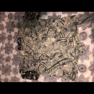 H&M print kimono short sleeve
